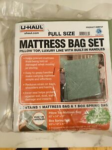 NWT UHaul Mattress Moving Bag Box Spring Travel