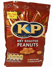 1Kg KP Dry Roasted Peanuts  Zip Close Nuts Bag