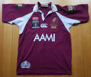 Autographed Canterbury Queensland State of Origin Maroons Rugby Official Jersey
