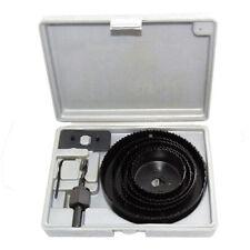 8 Piezas Profesional Kit de serrucho - 64, 76, 89, 102 & 127mm En Funda