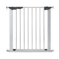 BabyDan Premier True Pressure Fit Baby Gate Silver - NO screws Stair Gate