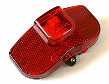 LED Fahrrad-Reflektor/Rückleuchte Rücklicht Fahrradrücklicht +Batterien Mofa