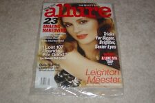 LEIGHTON MEESTER January 2011 ALLURE MAGAZINE NEW * PARTIALLY SEALED