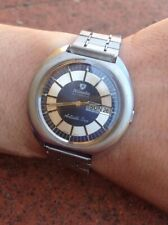 Nivada Antarctic Sun Automatic AS 2066 Day Date Watch Uhr Montre Orologio