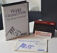 World Grand Prix SEGA Master System mit Anleitung OVP Sammlung 4974365632809