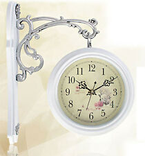 NEW Antique Style Double-Faced CLOCK Interior White-sided clock Clock Home Deco