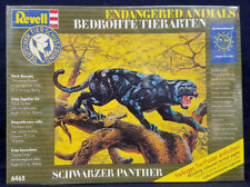 SEALED Revell #6465 25.5cm Endangered Animals SCHWARZER BLACK PANTHER Model Kit!