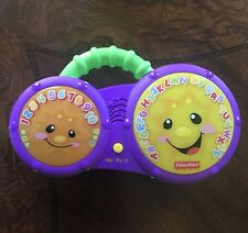 Fisher Price Laugh & Learn Bathtime Bongos Light Up Drums Abcs Numbers Music