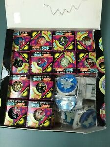 1995 Hot N Cool Freaky Zone GLO CAPS Series 2 Mini Box (Packet) x 40+ 8 Slammers