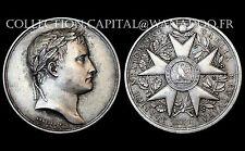 Napoléon I° Empereur. Légion d'Honneur. 1804. Bronze argenté
