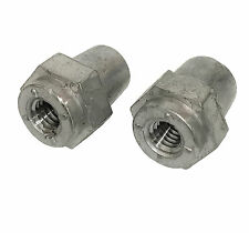 "NEW 2pc Quick Cable threaded 3/8"" battery stud to top post adapter conversion"