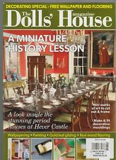 THE DOLLS'HOUSE UK MAGAZINE A MINIATURE HISTORY LESSON FREE WALLPAPER & FLOORING