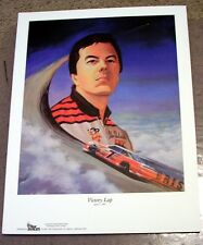 "ALAN KULWICKI 1992 ""VICTORY LAP"" PRINT 15"" X 11 1/2 "" APRIL 1, 1993"