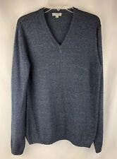 COS Mens Sweater, Cotton, Blue, Size M, H