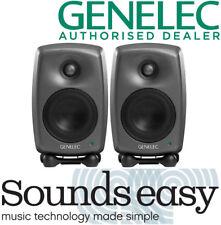 Genelec 8020D Active Studio Monitor Speakers - PAIR