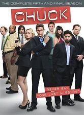 Chuck Season 5 Complete 5 Disc DVD Box Set Comedy Drama TV Series Region 2 New