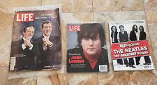 3 Old Magazines Rolling Stone 2 Life Magazines 1968 2011 John Lennon Beatles