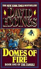 The Tamuli #1: Domes of Fire by David Eddings (1993, Mass Market Paperback)