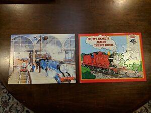 2 Thomas And Friends 30 Piece Cardboard Jigsaw Puzzles