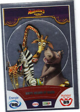 Vignette de collection autocollante CORA Madagascar 3 n° 86/90 - Marty, Melman..