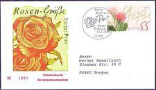 BRD 2003: Rosengruß! FDC selbstklebende Nr 2321 Berlin-Stempel! Gelaufen! 1610
