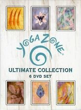 Yoga Zone - Ultimate Collection 6-Pack (DVD, 2002, 6-Disc Set)
