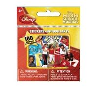 DISNEY HIGH SCHOOL MUSICAL MINI STICKERS - 100 COLLECTABLE HSM STICKERS - NEW