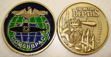 Command Submarine Pacific Fleet ComSubPac USN From the Depths