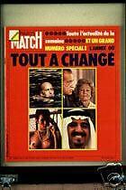 PARIS MATCH Yanne Veil Nixon Kissinger