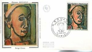 FDC - FRANCE 1673 - GEORGES ROUAULT - SONGE CREUX
