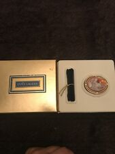 Estee Lauder 1997 Youth Dew Mother & Child Cameo Compact for solid perfume