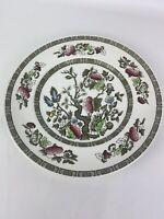 Vintage British Ridgway Tableware Dinner Plate Indian Tree floral pattern