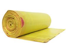 50 x Müllsäcke Müllbeutel Müllsack Gelb zugband 120 Liter sehr stark