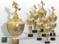 8er Fussball Pokale mit Gravur günstig kaufen TOP Pokale GOLDEN PRESTIGE Pokal