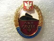 Poland Polish NAVY Badge Submarine ORP ORZEL 1st Crew.