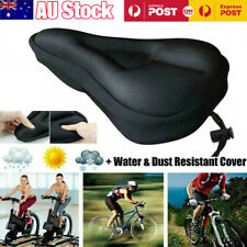 Cycling Seat Cover Memory Foam Upgrade Silicone Gel Cushion Soft Bike Saddle Pad