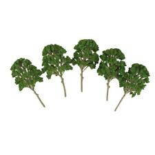 5pc Mulberry Tree Model Train Railway Architecture Diorama Scenery O HO 15cm