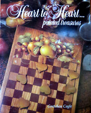 GRETCHEN CAGLE 1985 PAINTED TREASRES HEART TO HEART BOOKLET FRUIT DUCKLING DOVES