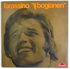 1972 FARASSINO IJ BOGIANEN 33 giri Polydor 2448004L Gipo folk piemontese