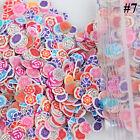 1000pcs 3D Mixed Fimo Canes Rod Polymer Clay Nail Art Stick Stickers Decora DIY