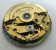 Vintage Elgin eta 2873 Automatic watch movement 17 Jewels for part (x13)