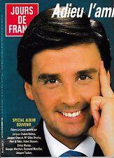 Jours de France n°1664 Novembre 1986 Thierry Le Luron Lascaux