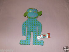 Soft Toy Comforter MONKEY DOLL FREE UK POSTAGE KIK AND & BOO ORGANIC FAIRTRADE
