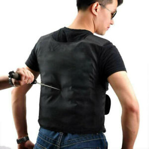 Men's Stab Proof Vest Body Armour Anti Stab Vest Anti-knifed Security Defense UK