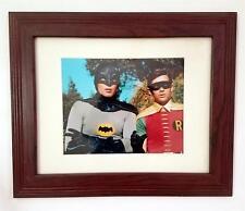 BATMAN ROBIN ABC TV Show Adam West Burt Ward 8 x 10 FRAMED PHOTO Pre-Owned