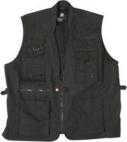 Rothco 7575 Black Deluxe Safari Outback Vest