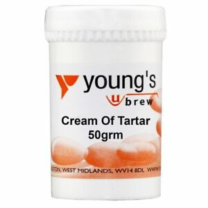 Youngs Cream of Tartar 50grm