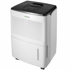 EcoAir Essential Compact 12L Portable Dehumidifier - White
