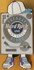 Hard Rock Live LAS VEGAS 2015 TUESDAY BLEND PIN Dj Turntable Record Player 82979