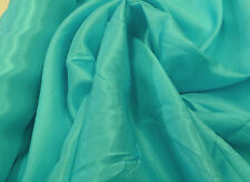PACIFIC BLUE ANTI STATIC POLYESTER DRESS LINING FABRIC  #F141A : $3.99 PER MTR